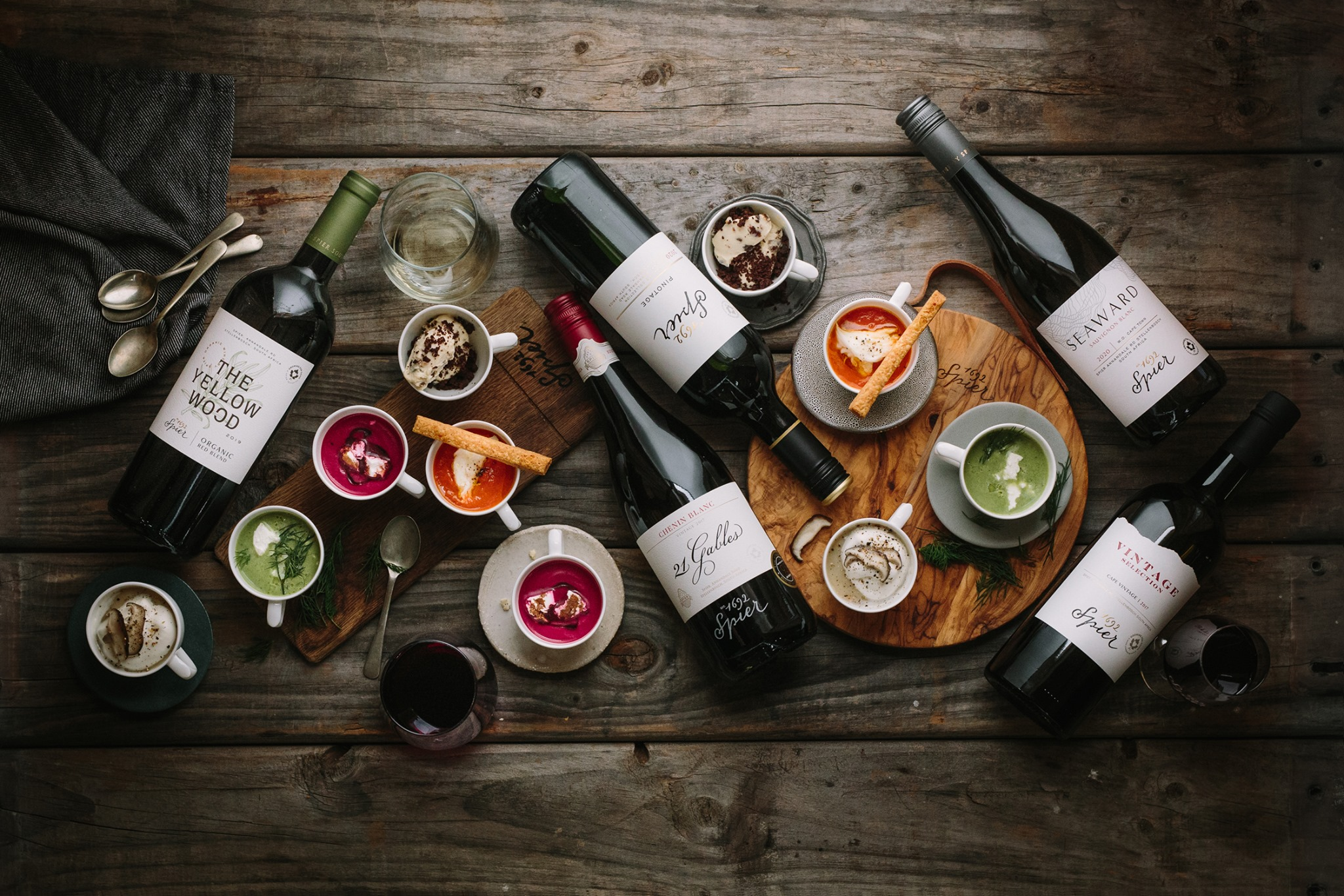 Winter Wine And Soup Pairing - A Toast To Spoonfuls Of Comfort